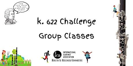 K. 622 Challenge: Yoga/Zumba tickets