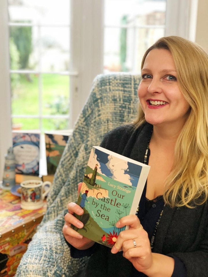 Live Storytelling with children's author Lucy Strange image