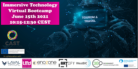 Immersive Technology Virtual Bootcamp for Tourism SMEs tickets