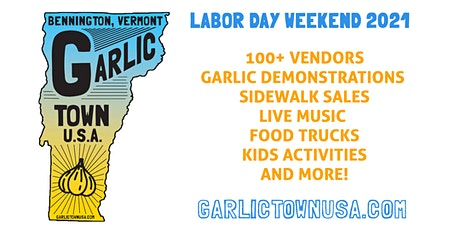 2021 Garlic Town, USA! tickets