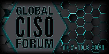 Global CISO Forum Conference 2021 tickets