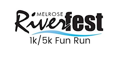 Riverfest 1k/5k Fun Run tickets