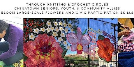 Walls-Ortiz Gallery Virtual Yarn Circle tickets
