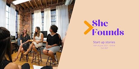 Startup Stories - Online Event tickets
