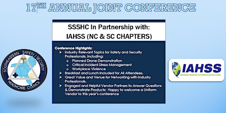 17th Annual Joint Conference SSSHC In partnership with IAHSS NC/SC Chapters tickets