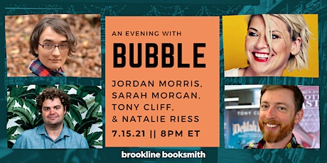BUBBLE: The Graphic Novel Creator Event! tickets
