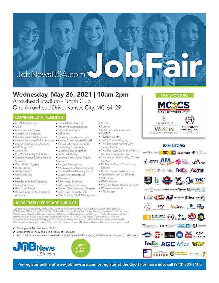 JobNewsUSA.com Kansas City Job Fair image