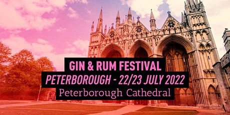 The Gin & Rum Festival - Peterborough - 2022 tickets