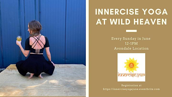 Innercise Yoga at Wild Heaven - June image