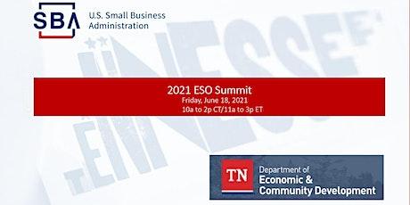 2021 ESO Summit tickets