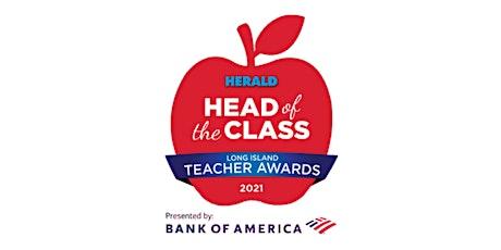 Head of the Class Teacher Awards tickets