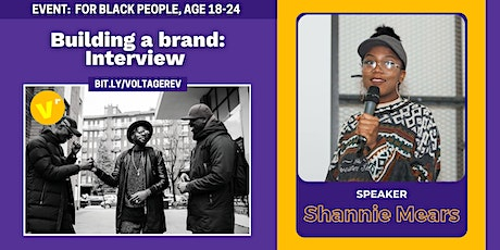 Building a brand with Shannie Mears  from The Elephant Room tickets