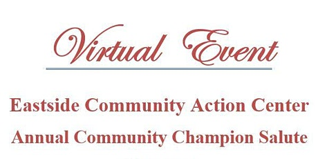 2021 Annual Virtual Community Champion Salute tickets