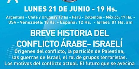 BREVE HISTORIA DEL CONFLICTO ÁRABE– ISRAELÍ entradas