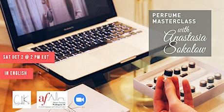 Online Perfume Masterclass tickets