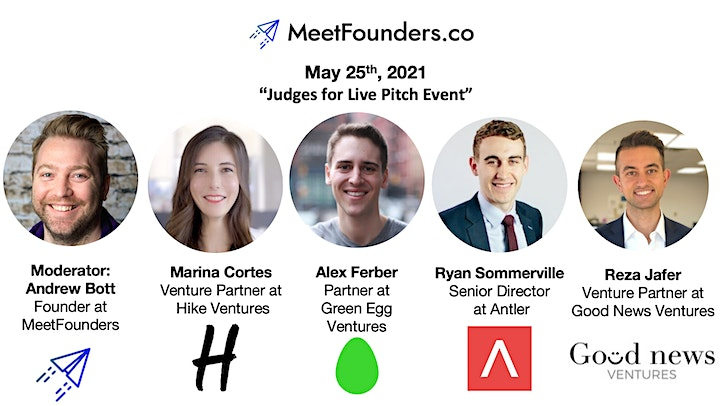 MeetFounders NYC [May 2021] Venture Capital Conference image