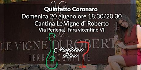 Quintetto Coronaro biglietti