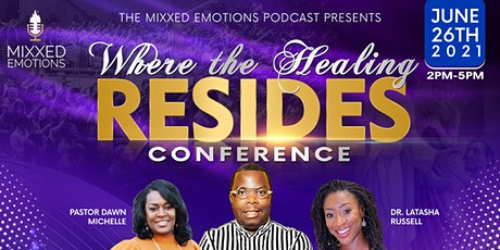 """The Mixxed Emotions Podcast presents """"Where The Healing Resides"""" Brunch. tickets"""