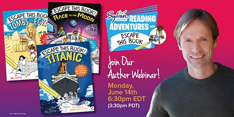 Sylvan Reading Adventures Author Webinar with Bill Doyle tickets
