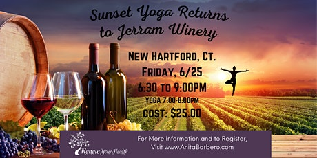 Sunset Yoga at Jerram Winery tickets