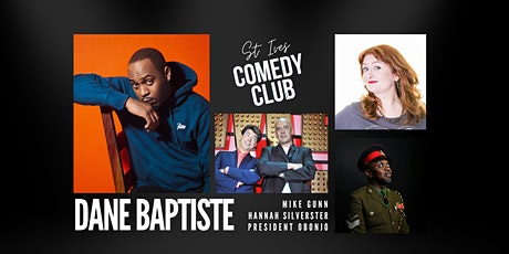 St Ives Comedy Club with Headliner Dane Baptiste tickets