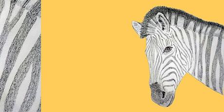 Get Drawing: Zebras Workshop tickets