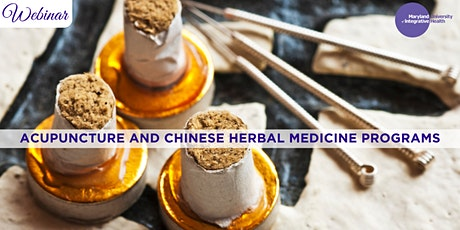 Webinar | Learn About Acupuncture and Chinese Herbal Medicine Programs ingressos