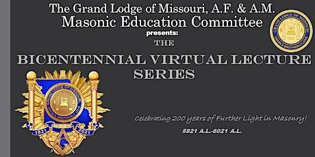 Bicentennial Virtual Lecture Series tickets