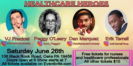 Stand-Up for Something: Healthcare Heroes OAKS tickets