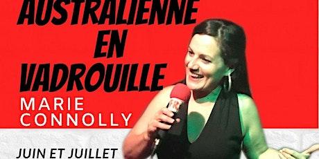 Australienne En Vadrouille. Stand-Up Comédie. billets