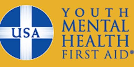YOUTH  Mental Health First Aid (virtual) [08-04-21] tickets