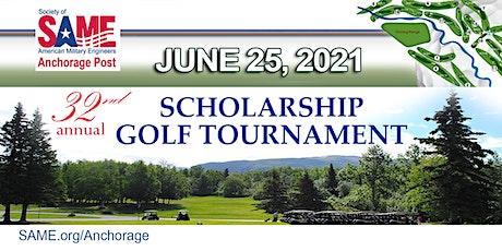 SAME Anchorage Post - Scholarship Golf Tournament (2021) tickets