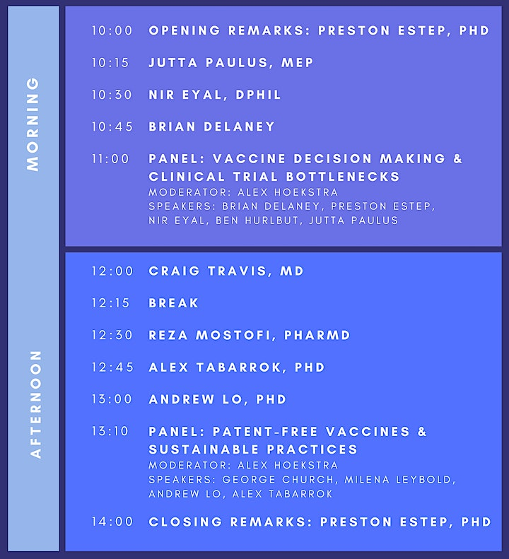 Unlocking Vaccines: Open-Source Vaccine Summit 2021, hosted by RaDVaC image