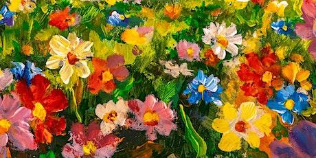 Let's Paint a Field of Flowers: Art Workshop tickets