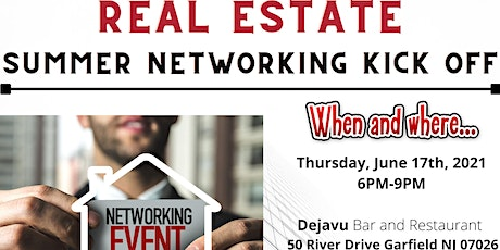 Real Estate Summer Networking Kick Off tickets