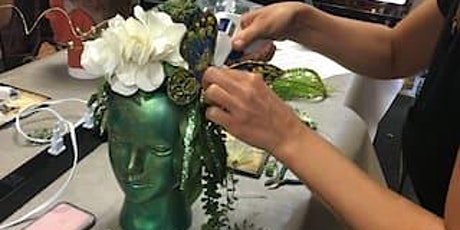Make a Floral Crown or Fantasy Headdress tickets
