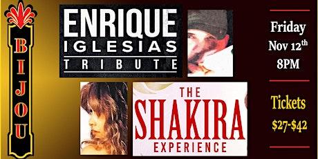Shakira & Enrique Iglesias Tribute tickets