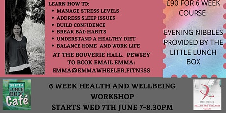 Health and Wellbeing Workshop tickets