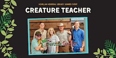 SRP: The Creature Teacher tickets