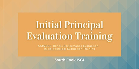 AA #2000: IL Performance Evaluation - Initial  Principal... (06929) tickets