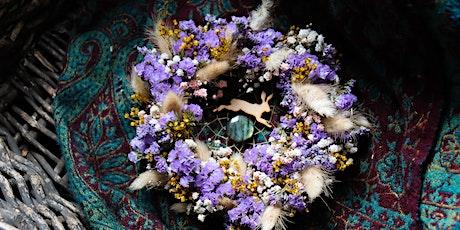 Botanical Dreamcatcher Wreath Workshop Including Picnic tickets