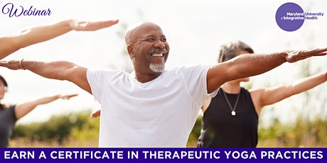 Webinar   *NEW* Earn a Certificate in Therapeutic Yoga Practices at MUIH tickets
