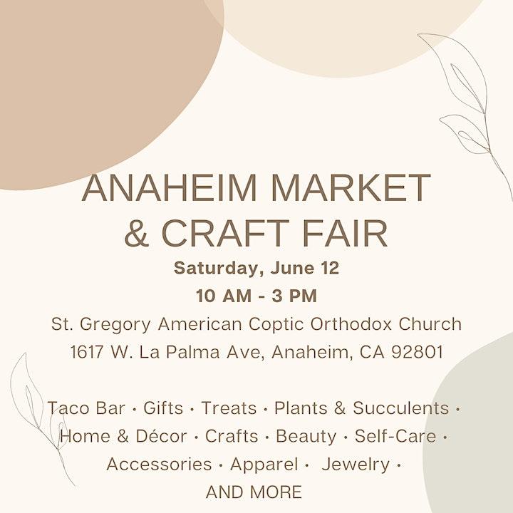 Anaheim Market & Craft Fair image