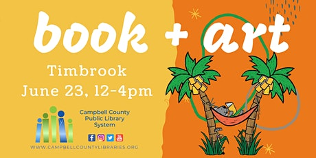 Timbrook Library book + art: Summer Reading 2021 tickets