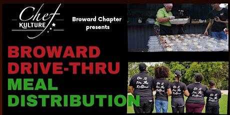 Broward Drive Thru Meal Distribution tickets