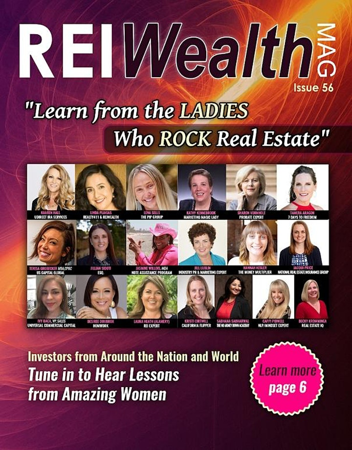 VIRTUAL EVENT: Learn from the Ladies Who ROCK Real Estate -- Connect Live! image