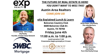 THE FUTURE OF REAL ESTATE! tickets