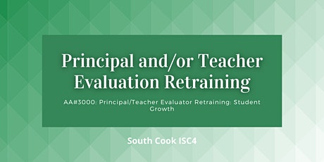 ONLINE AA#3000: Principal / Teacher Evaluator: Student Growth (06933) tickets