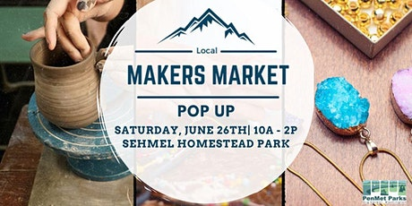 Local Makers Market Pop-up - Vendor Fee (only accepted vendors) tickets