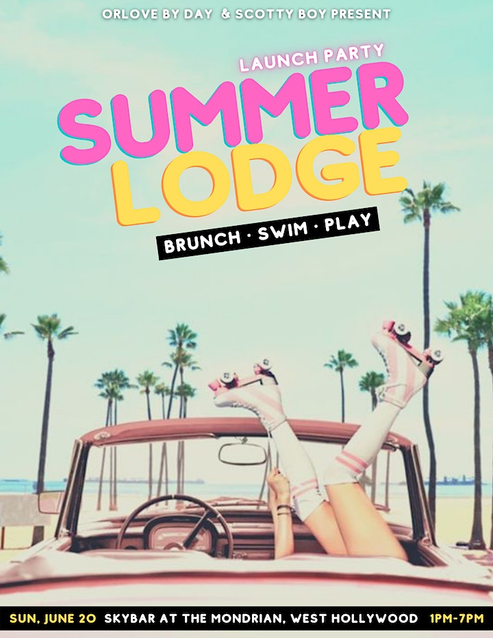Summer Lodge: Brunch & Pool Launch Party - SOLD OUT image